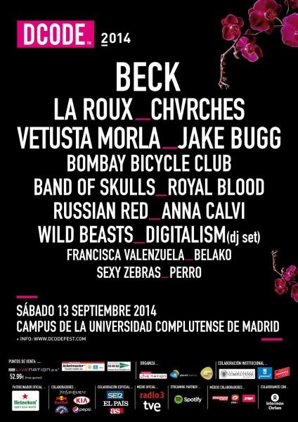 cartel dcode 2014 madridea