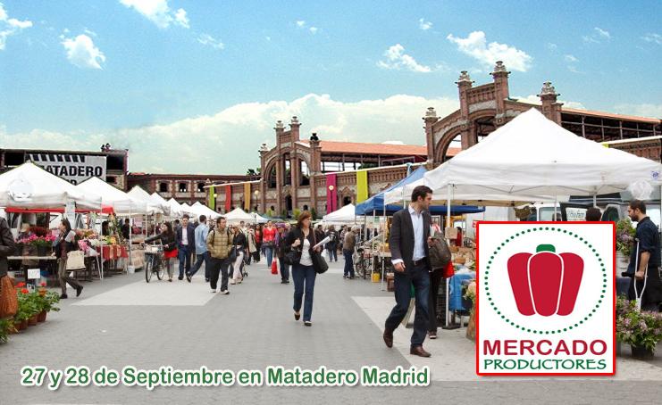mercado productores matadero madrid