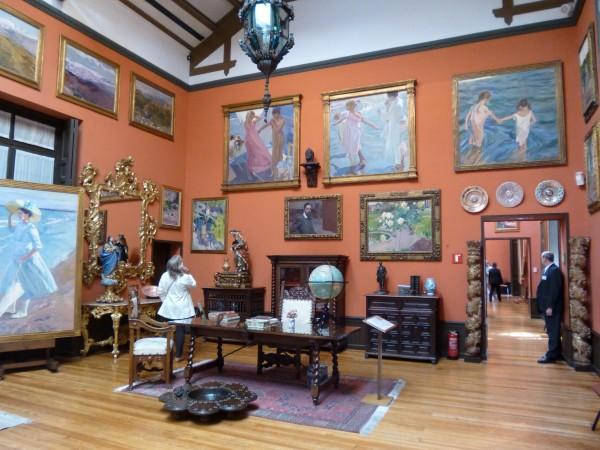 Madridea museo sorolla violeta de Pereda 7