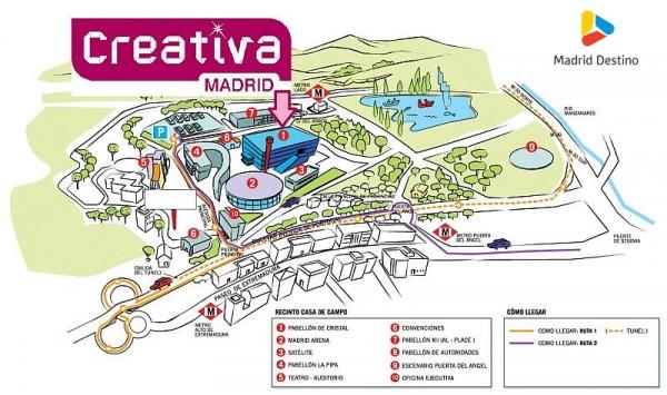 Creativa madrid madridea - Pabellon casa de campo madrid ...