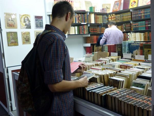 feria del libro viejo y antiguo madrid 2014 madridea